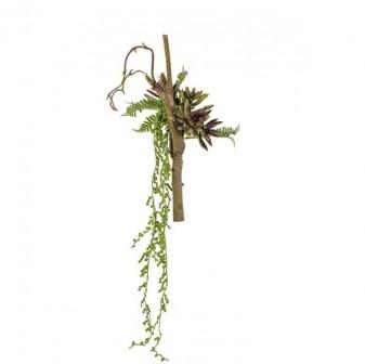 Dekoratif Yapay Sarmaşık Aloe 38 Cm