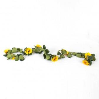Yapay Ayçiçeği Garland 180 Cm
